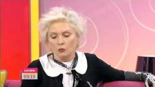 Deborah Harry on The Lorraine Kelly Show - May 25th, 2011