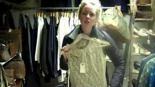 Diana Vickers Wicked Wednesday Vintage Shopping