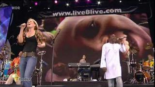Dido Ft. Youssou N'Dour - Seven Seconds Away Live 2005 at Jesters Lyrics