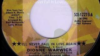 Dionne Warwick I'll Never Fall In Love Again 1970 Smash Hit
