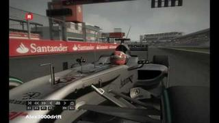 DJ Visage - Formula One (Michael Schumacher) (extended mix) F1 2010 pc montage