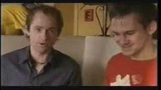 Dominic Monaghan and Billy Boyd at breakfast