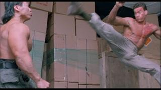 Double Impact Fight Scene - Van Damme vs. Bolo