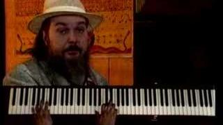 Dr. John playing 'Blueberry Hill'