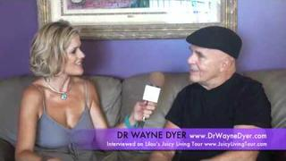 Dr Wayne Dyer's Leukemia & John of God's healings on Wayne - LILOU'S JUICY LIVING TOUR