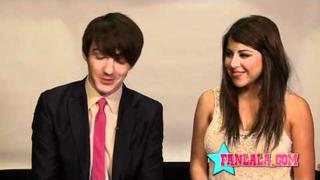 Drake Bell & Daniella Monet in the Fairly Oddparents Movie