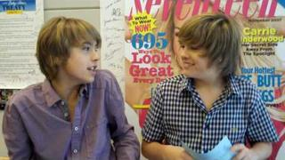 Dylan a Cole Sprouse