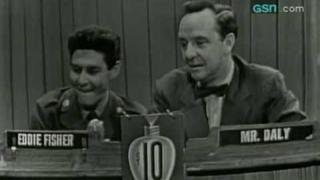 """Eddie Fisher on """"What's My Line?"""""""