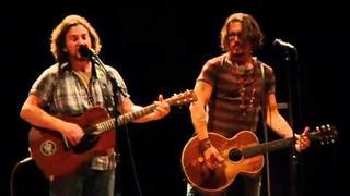 Eddie Vedder Sings Society with Johnny Depp
