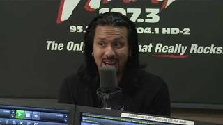 Eddie Vedder Uses a Broken MTV Moonman as a Doorstop
