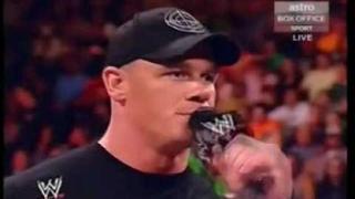 Edge vs John Cena Build up