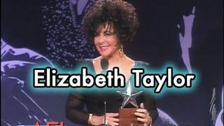 Elizabeth Taylor Accepts the AFI Life Achievement Award