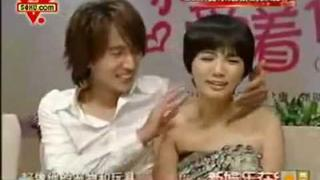 Ella Chen and Jerry Yan - Down With Love - HZ Presscon 07192009 - 2