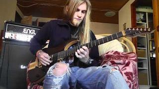 Elvenking - Dweller of Rhymes guitar cover