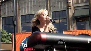 Emily Osment Singing Love Sick Acoustic Live