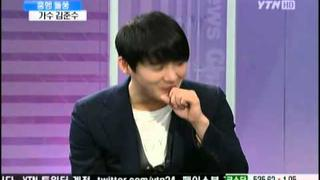 [ENG SUB] 110112 Kim Junsu Interview YTN News and Issue Part 2