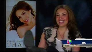 Entrevista de Thalia en Univision Nueva York | 03.11.2011