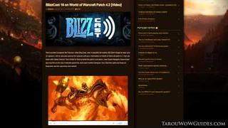 Ep.49 Tarou's Weekly WoW Report 5/12/11- Patch 4.2: Firelands Overview!