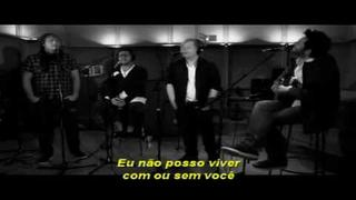 Espen Lind, Kurt Nilsen, Alejandro Fuentes & Askil Holm - With Or Without You (Legendado-BR)