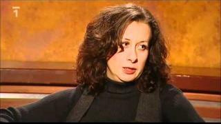 Ester Kočičková v pořadu Všechnopárty Karla Šípa