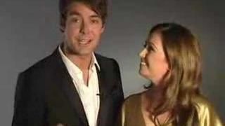 Eurovision's host 2007: Jaana Pelkonen & Mikko Leppilampi