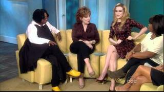 Evan Rachel Wood on the View ABC HD