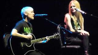 Evan Taubenfeld & Avril Lavigne in #Winnipeg -- Best Years of Our Lives -- MTS Center 2011 Live