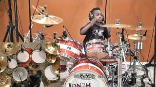 Evanescence - Everybody´s Fool, 6 Year Old Drummer, Jonah Rocks
