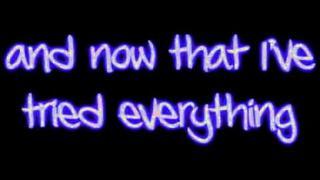 Evanescence- Made Of Stone lyrics (CD quality, original)