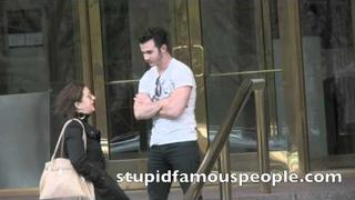 EXCLUSIVE: Kevin Jonas talks to woman at Trump Hotel