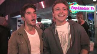 Exclusive! Sterling Knight on Kobe, LeBron, & The Lakers @ Trousdale in West Hollywood!