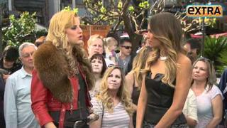 Extra' Raw: 'The Voice' Singer Juliet Simms at The Grove