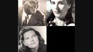 "Ezio Pinza, Jarmila Novotna & Margaret Harshaw ""Tu ne chanteras plus"" Les Contes d`Hoffmann"