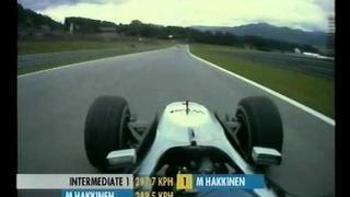 F1 Austria 2000 Qualifying - Mika Hakkinen Lap