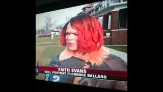 Faith Evans Visits Motown For Florence Ballard Movie