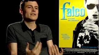 Falco im Kino - Interview mit Manuel Rubey (zu Filmpremiere in Deutschland)