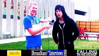 Falling In Reverse Interview Ronnie Radke UNCUT 2012