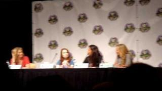 Felicia Day, Kristy Swanson, Julie Benz, Charisma Carpenter DragonCon 2009 Friday 9