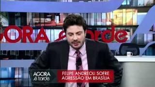 Felipe Andreoli fala da agressão que sofreu no Congresso