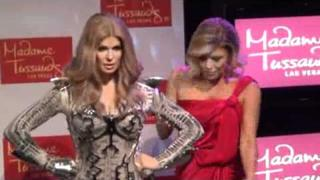 Fergie of The Black Eyed Peas Unveils Her Wax Statue at Madame Tussauds Las Vegas 2011