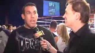 "Fight Zone TV Jay Adams' Brawl Call ""Big"" John McCarthy"