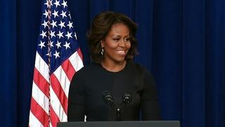 First Lady Michelle Obama Speaks on Expanding College Opportunity