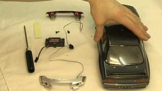 Fitting LED unit to Carisma GT14 Nissan Skyline GTR R32.mpg