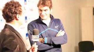 Follow Federer On His Media Blitz