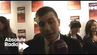 Frank Iero from My Chemical Romance interview at NME Awards 2011