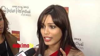 Freida Pinto on Filming a Bollywood Movie?