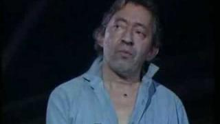 Gainsbourg - Sorry Angel 1988 (LIVE)