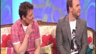 Gary Barlow and Ben shepherd on the Paul O'Grady Show part 1