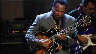 "George Benson playing ""Lately"""