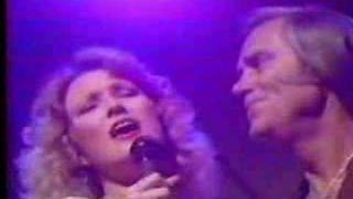 George Jones and Tanya Tucker singing